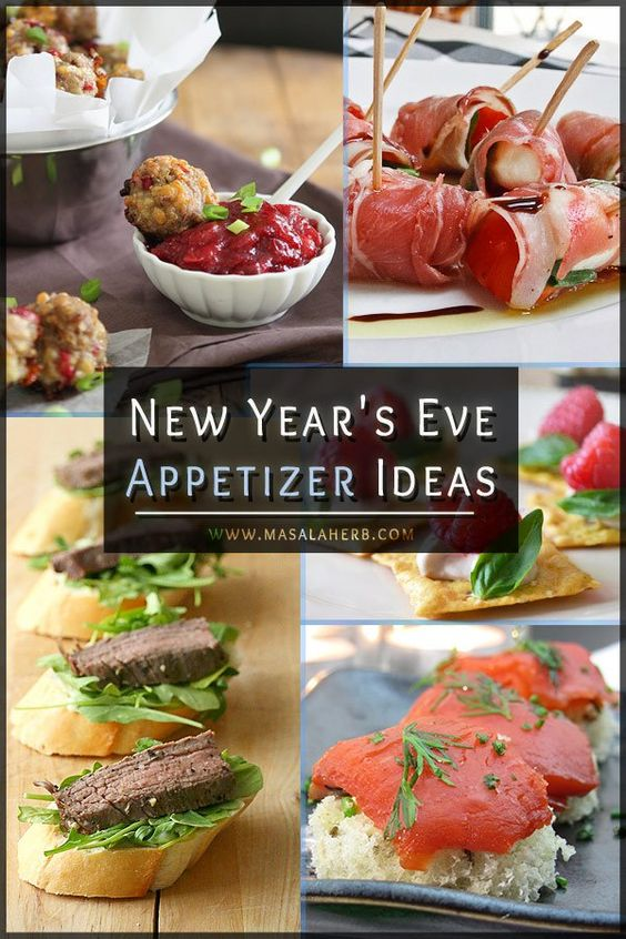 New year s eve appetizers bite sized hors d oeuvres for Appetizer ideas for new years eve party