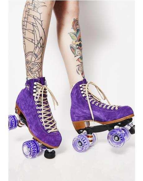 roller skate platform shoes