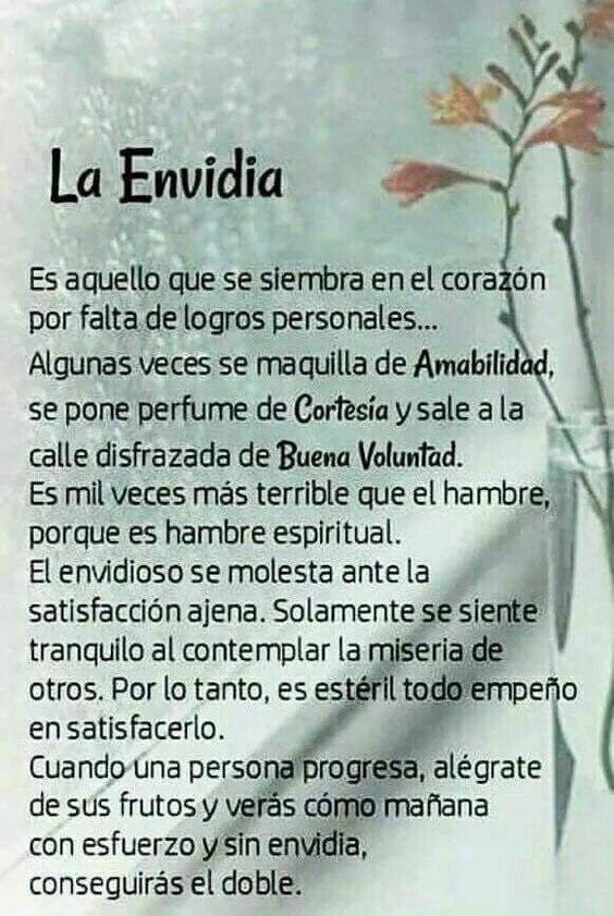 ===La envidia=== 52e4094edab7d48b348a8c201ec85b43
