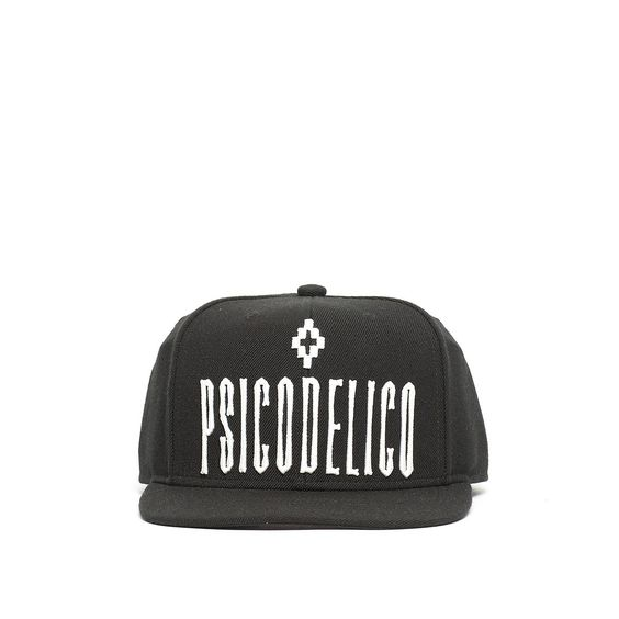 Coropuna cap from the F/W2016-17 Marcelo Burlon County of Milan collection in black