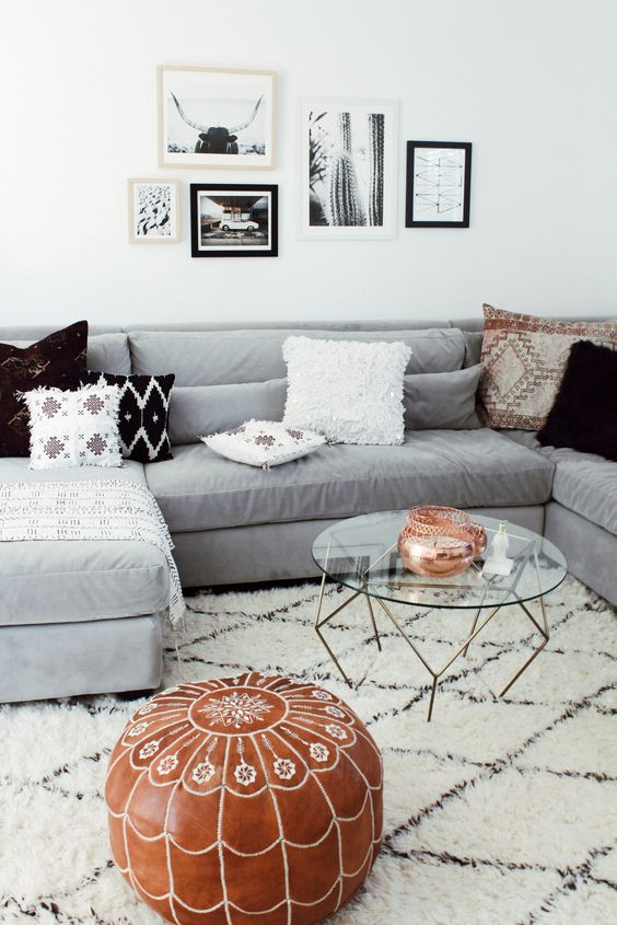 Decor tips rugs that go hand in hand with a grey sofa for Oriental sofa designs