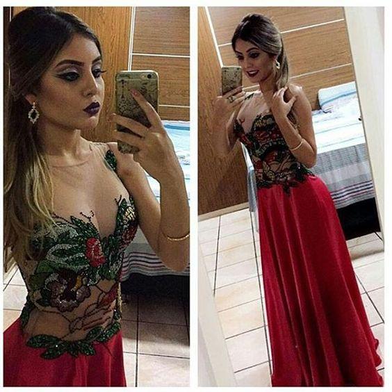 A Ana arrasou na make and hair com vestido Patchoulee da coleção passada ❤#WeWearPatchoulee  #regram @lucreciamodas