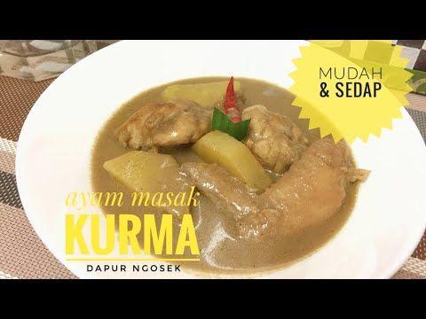 Resepi Ayam Masak Kurma Senang Dan Sedap Youtube Food Grilled Meat Chicken