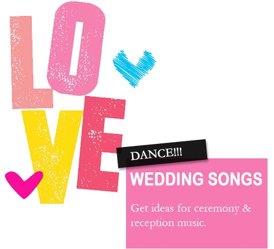 Music plays significant role in your wedding ceremony & reception.We've 1000 great wedding songs UK whether Romantic First Dance Songs,wedding ceremony songs,first dance wedding songs,modern wedding songs