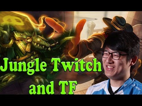 What happens when Rush tries jungle Twisted Fate and Twitch https://www.youtube.com/watch?v=K3l-_pIG2JQ #games #LeagueOfLegends #esports #lol #riot #Worlds #gaming