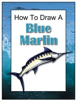 Drawing with John presents: How to Draw a Blue Marlin. Begin with a pencil sketch and end with a detailed ink drawing. Includes a descriptive paragraph and five question quiz.