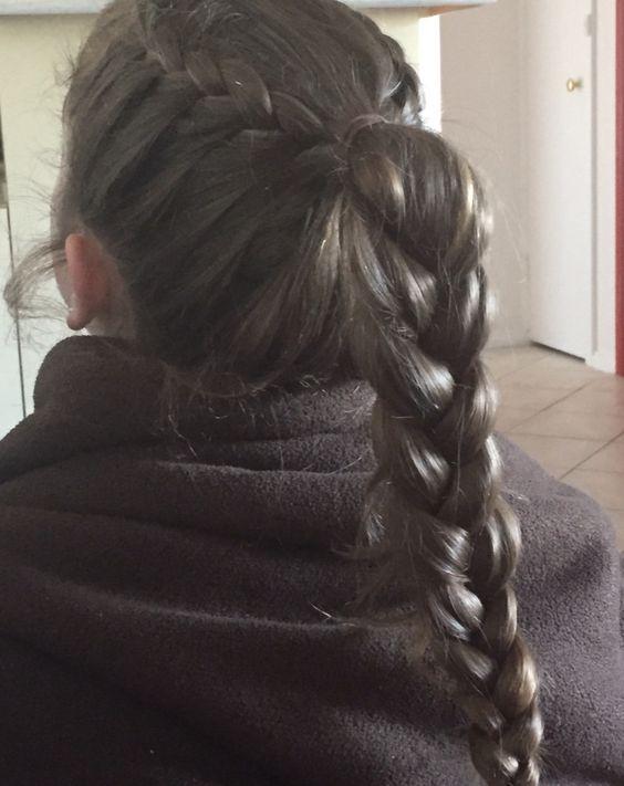 Cute braid hairstyle