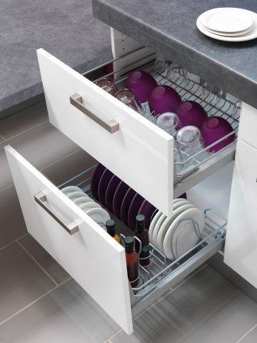Dans la cuisine chaque objet son rangement cuisine et fils - Comment ranger sa cuisine ...
