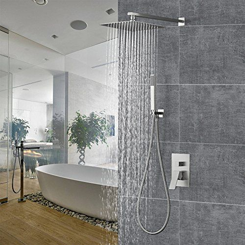 Shower System With Rainfall Shower Head And Handheld Show Https
