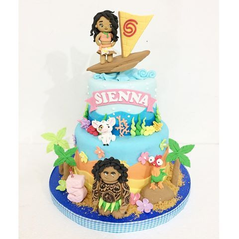 Image result for MOANA CAKE: