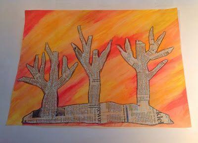 Endlich pause herbst pinterest kunst for Basteln herbst grundschule