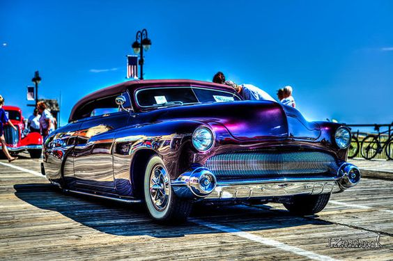 1949 Mercury Street Rod Print by Joshua Zaring.  All prints are professionally…