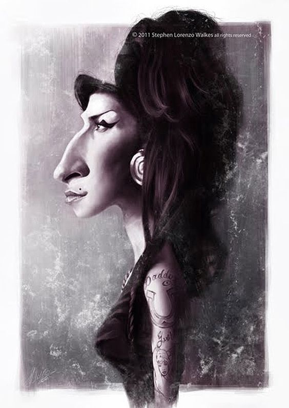 Caricatura de Amy Winehouse.: Art Caricatures, Caricaturas Musicales, Caricaturas Cantantes, Lorenzowalkes Deviantart, Amy Winehouse, Lorenzowalkes Frame, Caricaturas Famosos Artistas, Caricaturas Famous, Net Lorenzowalkes