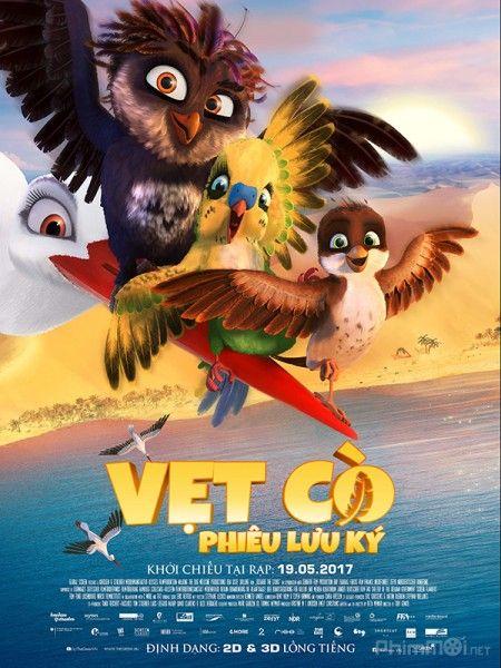 Phim Vẹt cò phiêu lưu ký