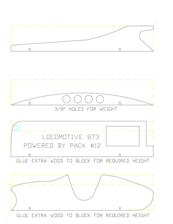 Pinewood Derby Templates Printable Pinewood Derby Car Cutting - pinewood derby template