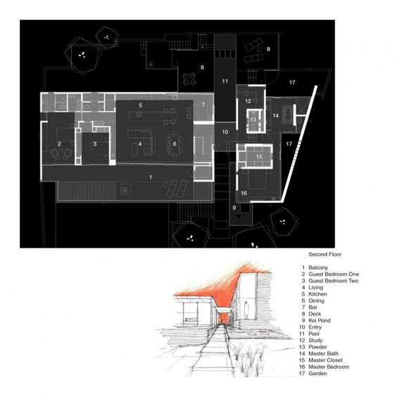 The Yerger Residence Design by Chen & Suchart Studio - Architecture & Interior Design Ideas and Online Archives | ArchiiiArchiii