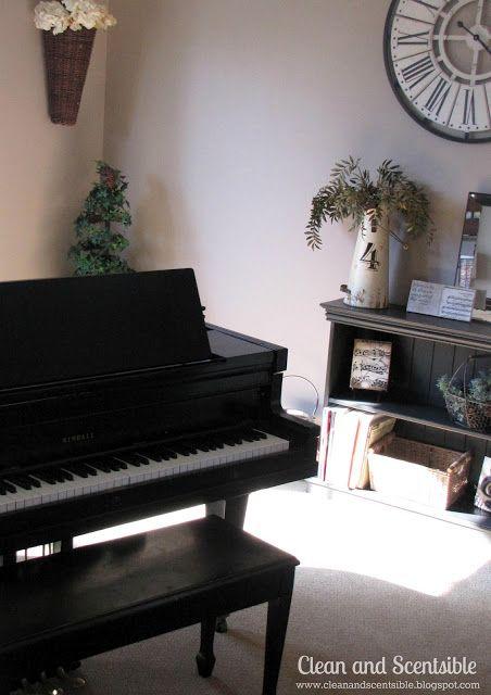 Piano room decoration ideas