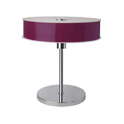 objet déco violet   Lampe à poser New Lounge ESPRIT, violet en vente sur Meubles.com ...