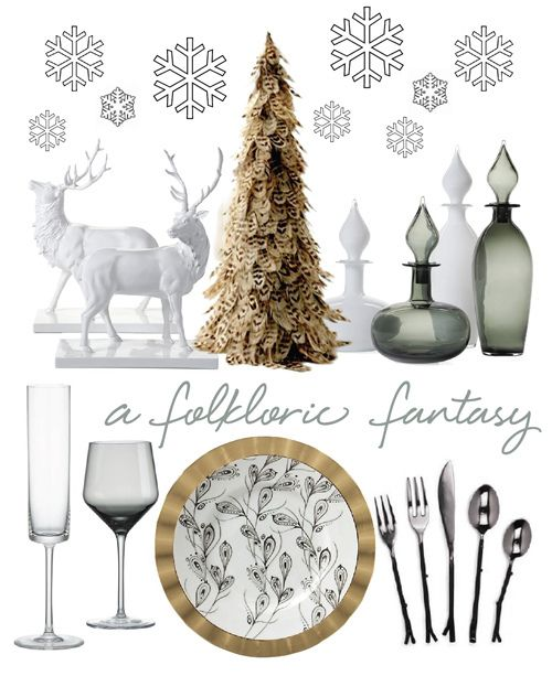 A FOLKLORIC FANTASY TABLETOP | coco+kelley