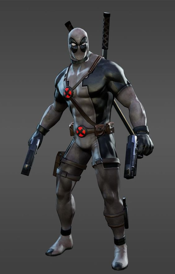 Deadpool X-Force Costume - Marvel Heroes 2016 | Deadpool ...