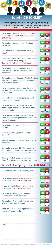 Social Media Checklists Social Media Manager School Social Media Checklist Social Media Manager Social Media Jobs