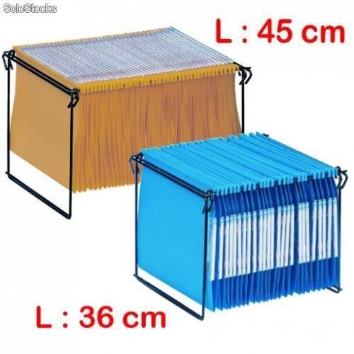 Support Pliant Metallique Pour Dossiers Suspendus Rangement Dossier Suspendu Dossiers Suspendus Rangement Dossier