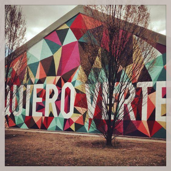 Cuidad Universitaria #madrid #streetart