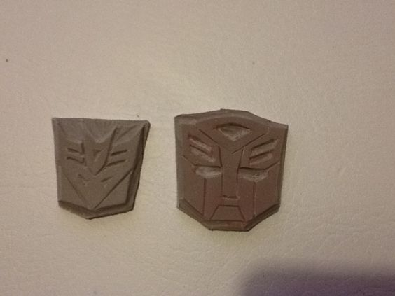 Transformers carved by Debbie Russell