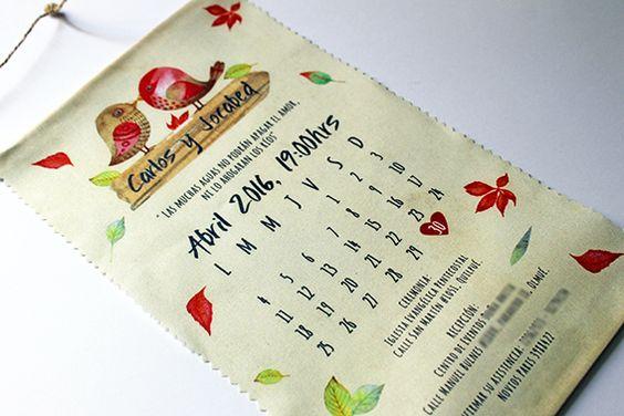 Invitación Calendario