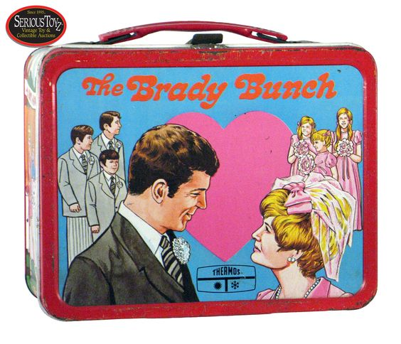 Brady Bunch lunch box.