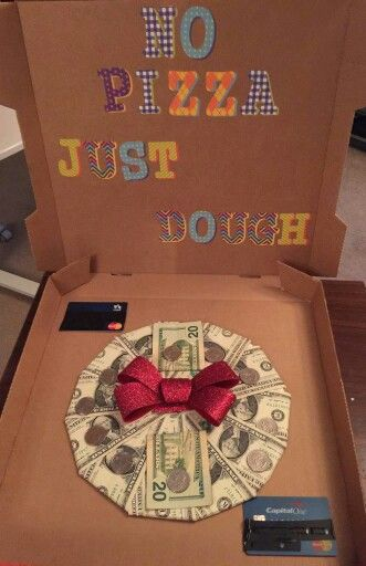 No pizza just dough gift ideas pinterest pizza for Top 10 birthday gifts for boyfriend