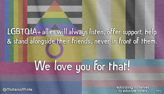 I'm sure you have already seen our new electronic postcards. They are designed to appeal to everyone within the LGBTQIA family, including heterosexual allies, living up to our tag line. Educa…