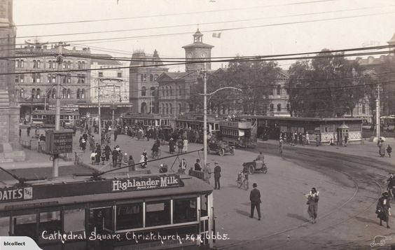 Christchurch Trams Cathedral Square FGR No 6665 PC | Trade Me