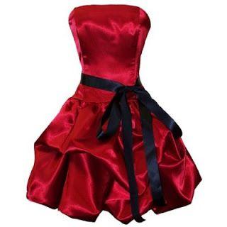 Vestidos rojos de satin ~ Moda y belleza, vestidos imagenes