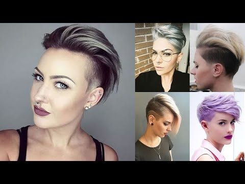 25 Short Hairstyles For Women Pixie Bob Undercut Hair In 2018 Youtube Short Hair Styles Short Hair Undercut Undercut Hairstyles