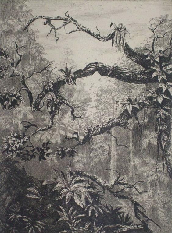 Dolores de Sade 'Junction 4', A2 Etching 31x23.5cm Edition of 25, £175