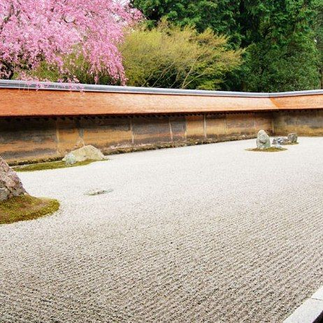 The Rock Garden at Ryoanji, Kyoto, Japan: Architectural Digest