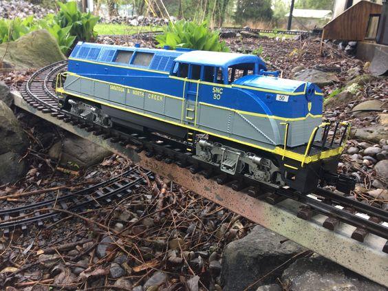 3d printed train