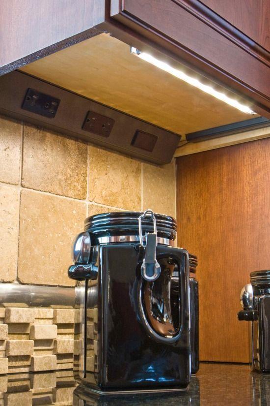 under cabinet plug strips kitchen