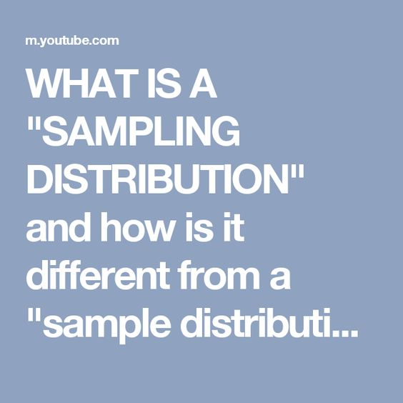 Best  Sampling Distribution Ideas On   Ap Statistics