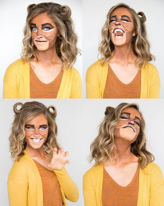 Simba Makeup