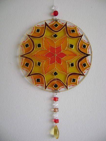 Mandala Flor Solar MP-139 | BAZAR PATATIVA | 1DBAE6 - Elo7