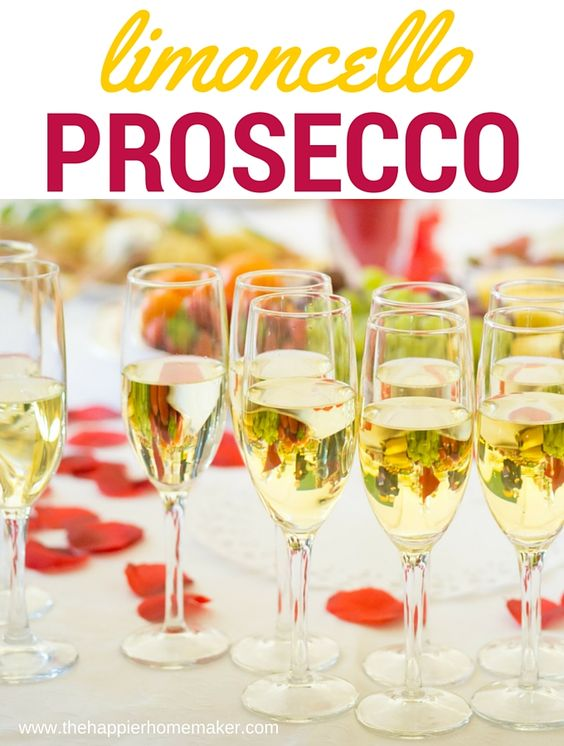 Limoncello prosecco cocktail recipe cocktails for Drinks made with prosecco
