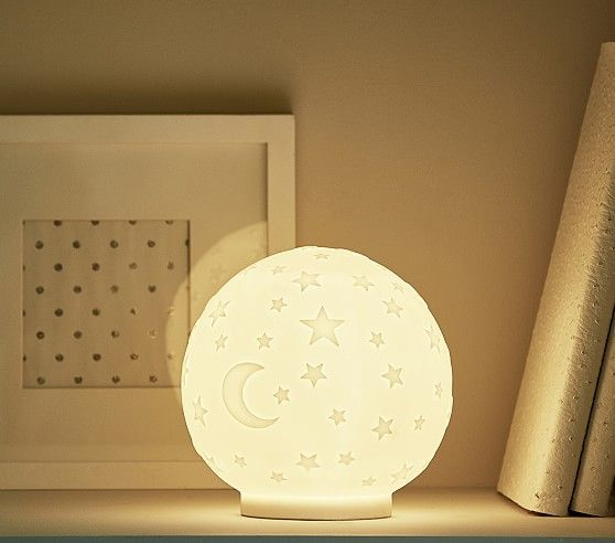 Star Globe Table Portable Nightlight Gender Neutral Nursery