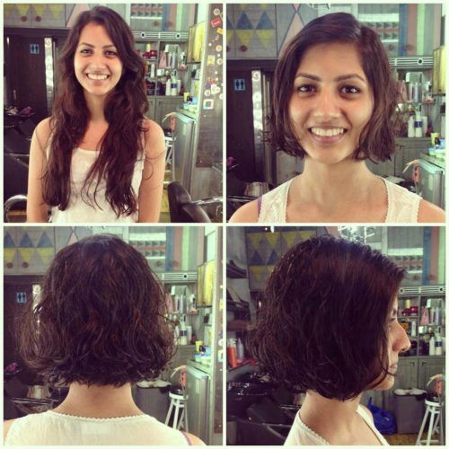 Cute Neck Length Bob With Side Parting Hair Styles Bob Hairstyles Short Hair Styles