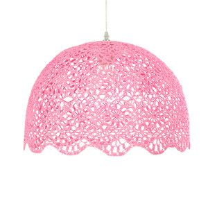 Goa Hanging Lamp XL Pink now featured on Fab.