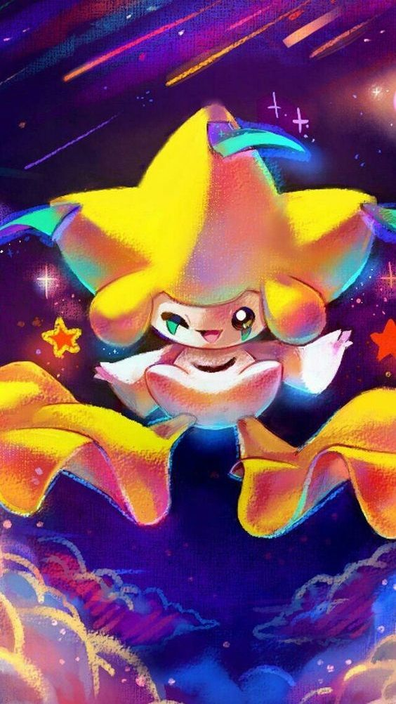 It S Jirachi The Pokemon Of Wishes It Hibernates For Extensive