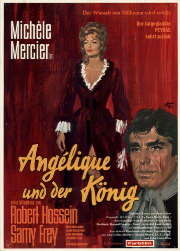 Angelique-und-der-Koenig-ORIGINAL-DIN-A1-Kinoplakat-Michele-Mercier-R-Hossein