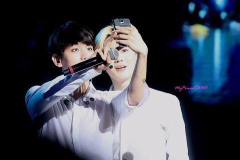 SuBaek take a photo~Selfie