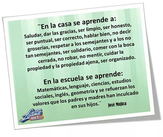 Image result for jose mujica frases  educacion en espanol
